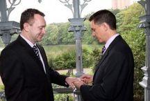 LGBTQ Central Park Wedding / focus on LGBTQ Central Park Weddings