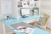 Office design / Ideas para decorar la oficina.  / by Vicky