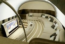 Luxury Interior Jets / Luxury Interiors for the Air with a Lifestyle #InteriorDesign #PrivateJets #LuxuryLiving
