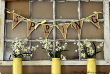 Spring decor / by Nicole Pires