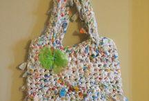 Beach & Grocery Bags / Beautiful handmade, reusable beach and grocery bags.