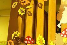 Őszi csoport dekoráció