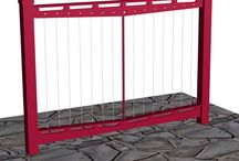 3D Railings Design / We create realistic 3D Architectural custom railings renderings and dimensioned drawings so that our customers can see exactly what they are getting before hand eliminating unexpected surprises later.
