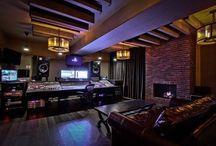 Professional recording studios