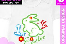 HAPPY EASTER SVG T-SHIRT DESIGN