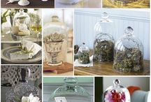 Glass Cloches And Jars
