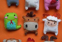 idee in feltro / needle felted ideas