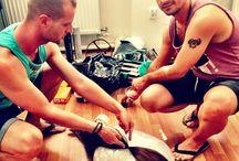 Backstage/Preparations