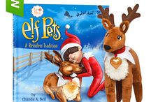 Elf Pets®: A Reindeer Tradition / Santa is inviting families all over the world to adopt an Elf Pets™ Reindeer—a snuggly new friend that will help his sleigh fly on Christmas Eve! / by The Elf on the Shelf