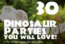 Party theme, dinosaur