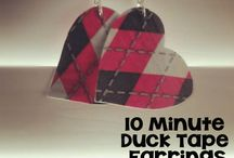 Duck Tape Crafts / Fun to use, easy to buy, Duck Tape is fun to craft with! Check out all the crafts you can make using Duck Tape. / by Craft Moore