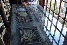 eski kapıdan masa