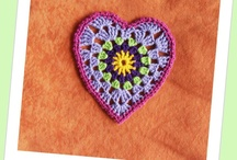 DCraft: Hearts / mostly crochet and knitting
