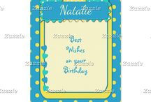Zazzle ~ Greeting Cards / Greeting Cards, Birthday Cards