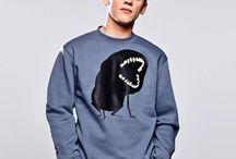 Koszulki i bluzy męskie / Streerwear to tożsamość swobodnie noszona. Sprawdź, które wzory do ciebie pasują. Wybierz swojego bohatera.
