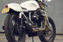 Cafè racer and Custom / Custom and Cafè racer motorcycles / by GMO