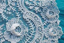 LACE | needle lace / Includes needle laces like Armenian lace, Alençon lace, Carrickmacross lace and Point de Venice.