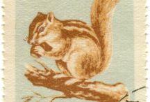 Briefmarken Tiere