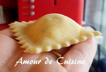 Recette de pâte : Raviolis,