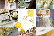 Yellow Wedding Theme Ideas