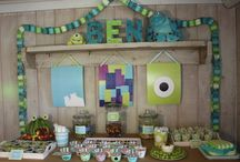 Monster inc party for kage / by Cara Stike