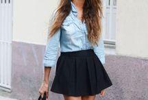 Minimalistic women's fashion