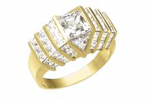 Men's Jewelry / Browse the extensive selection of simulated diamond jewelry for men.