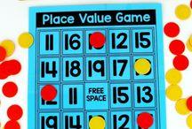 Teaching - math - place values
