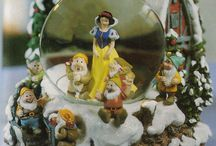Dinsey Snow Globes / by Vanessa Fay Jones