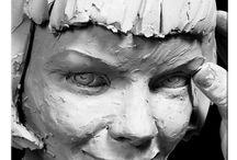 keramiek hoofden