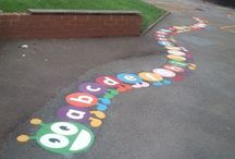 Thermoplastic Playground Markings