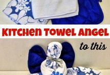 Angel Kitchen Towels Galore