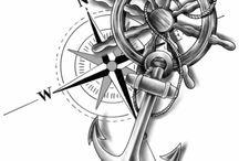 compass,anker