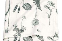 Fabrics and inspiration