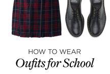Модная одежа на учёбу