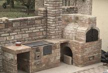 Kerti sütők/Outdoor fireplaces
