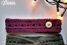 Crochet head warmers