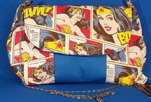 LouLou and Mo Pop Culture Bags / Amazing handmade geeky bags!
