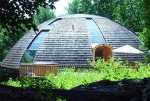 Domes, Yurts, houses