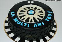 BMW wheel cake / BMW wheel cake