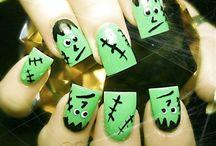 Halloween Nail Art 2013