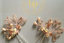 The Bobby Pin Rose Gold Collection / Bridal Adornments