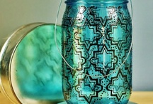 Crafts- Glass Painting