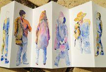 Journaling People / by Sue Ellen Anderson