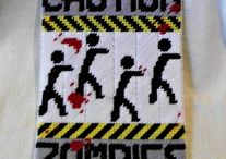 Plastic Canvas-Zombies / by Michelle Haigh