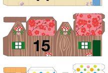 papírový domek