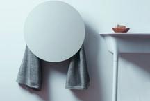 Geometrici   towel warmers - scalda salviette elettrici / aluminium electric towel warmer Scalda salviette elettrici in alluminio