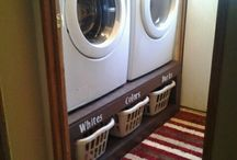 Laundry/Utility room / My ideal house has a dedicated laundry room.