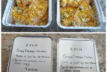 Chicken freezer meals