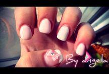 Angela's nail art / Lovely nails!!
